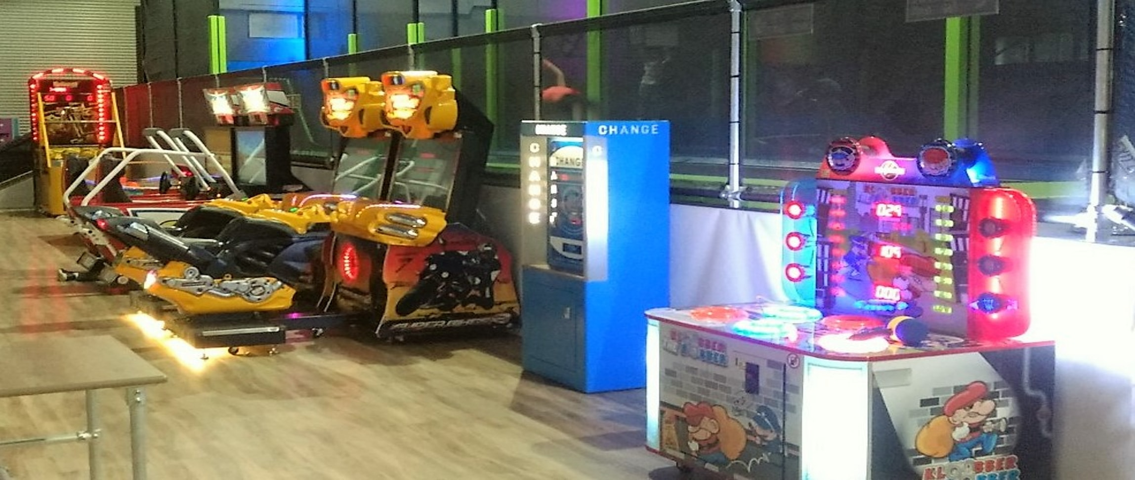 trampoline park amusement machines